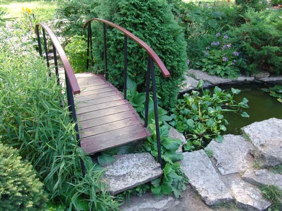 Сад в пейзажном стиле пейзажный сад
