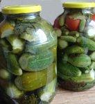 Консервирование овощей на жесткой воде