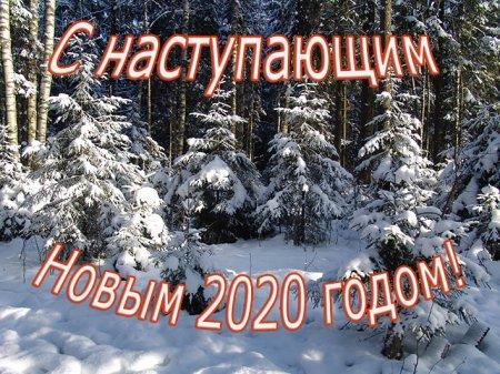 Поздравление с наступающим Новым 2020 годом